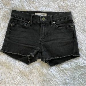Banana Republic skinny cut off fringe shorts 24 P